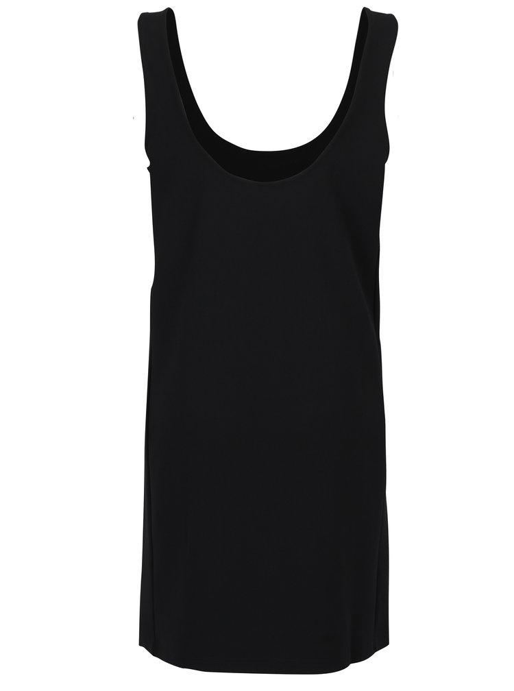 Černé volné šaty Jacqueline de Yong Saint