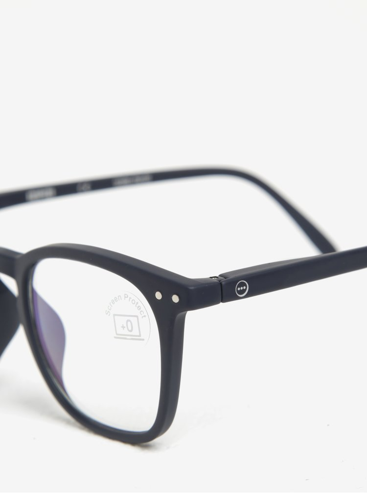 Tmavě modré pánské ochranné brýle k PC IZIPIZI  #E