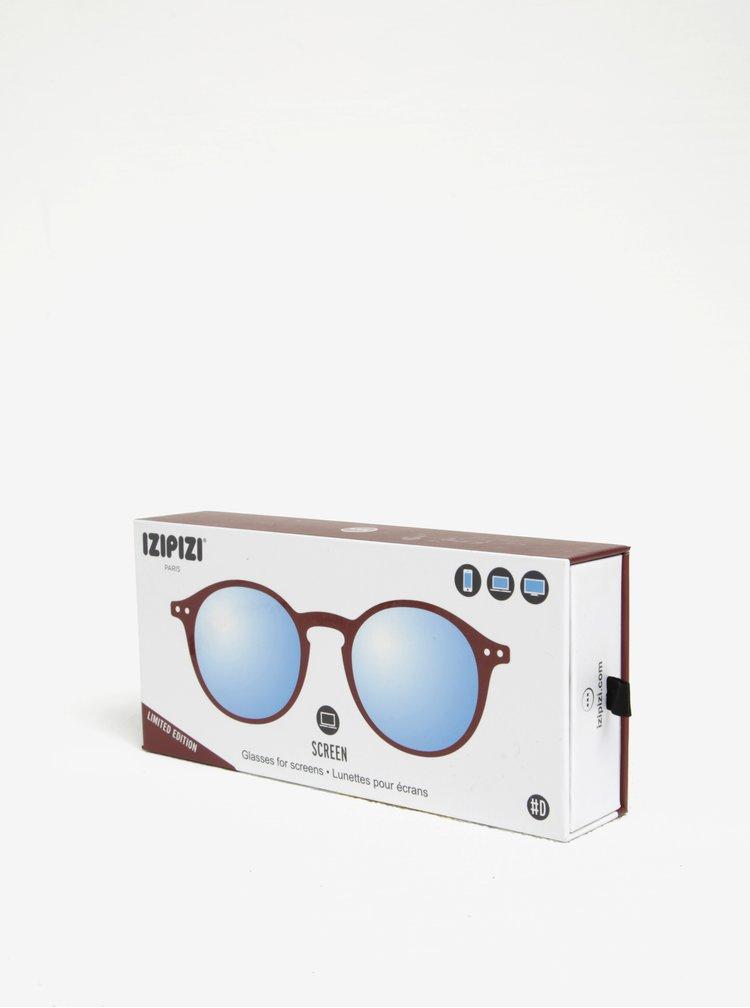 Vínové dámské ochranné brýle k PC IZIPIZI  #D