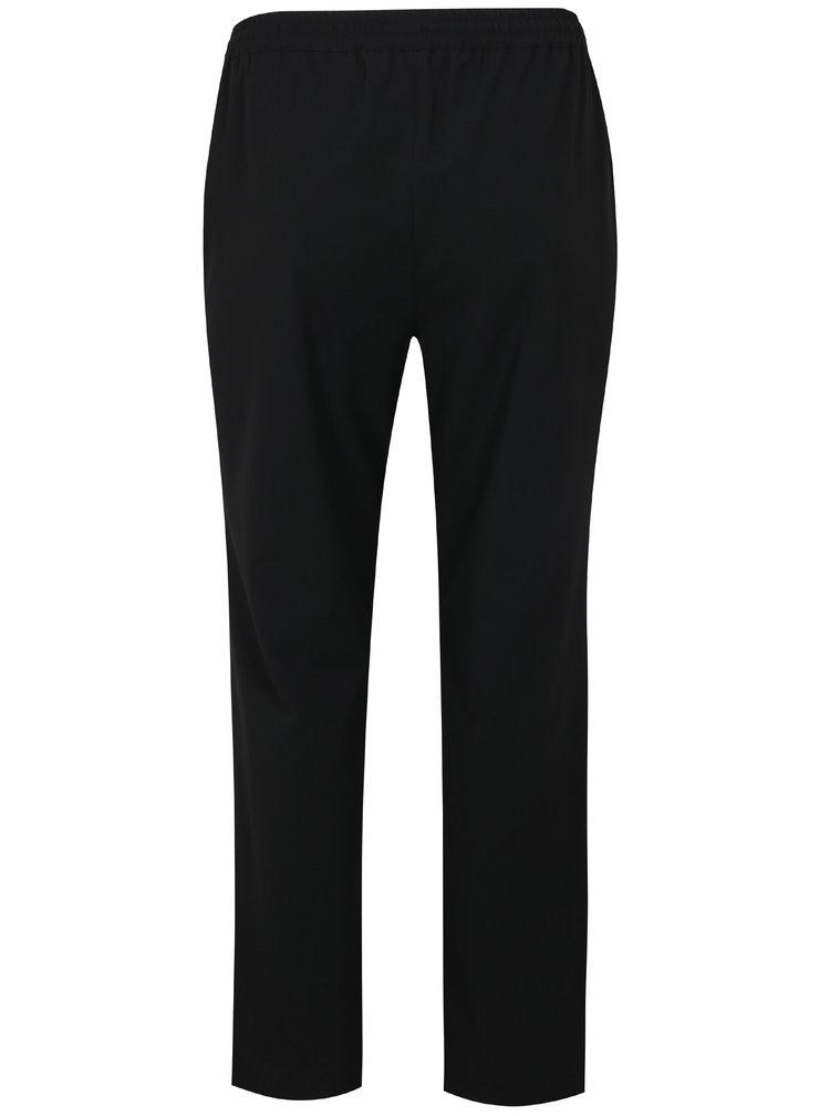 Černé straight kalhoty Ulla Popken
