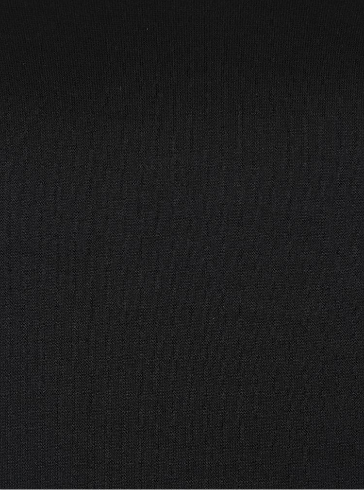 Černá tunika s krajkou Ulla Popken