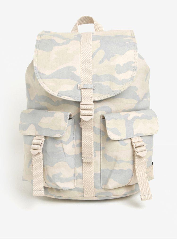 Šedo-krémový maskáčový batoh Herschel Dawson 20,5 l