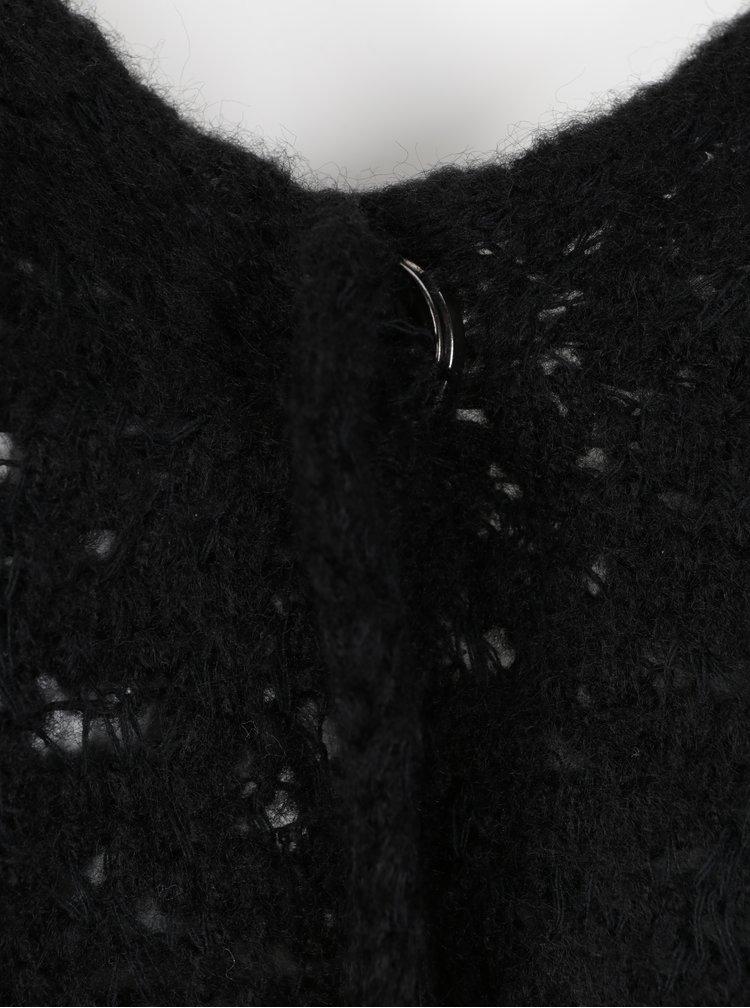 Černý kardigan Ulla Popken