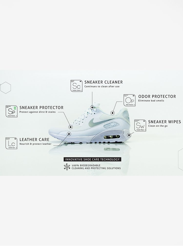 Dvoudílná sada na čištění obuvi Sneaker LAB