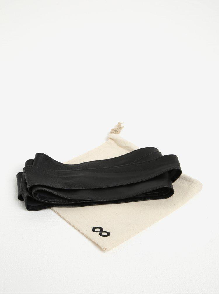 Černý kožený pásek ZOOT