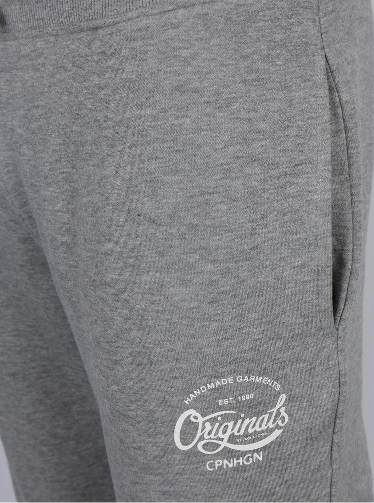Sivé tepláky Jack & Jones Originals Softneo