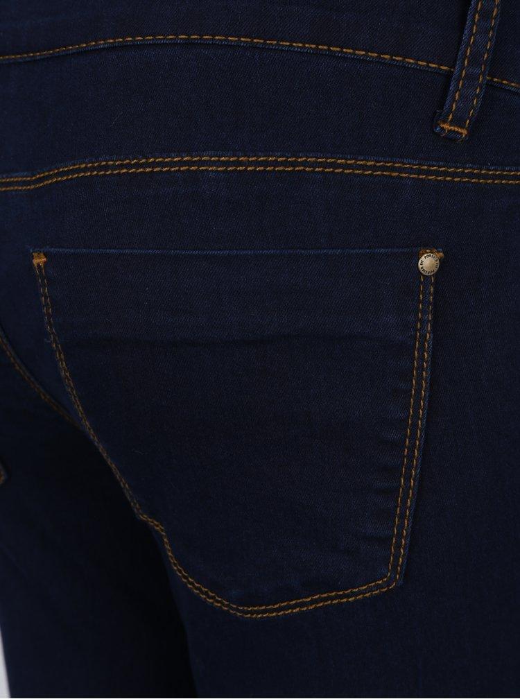 Tmavě modré těhotenské skinny džíny Dorothy Perkins Maternity