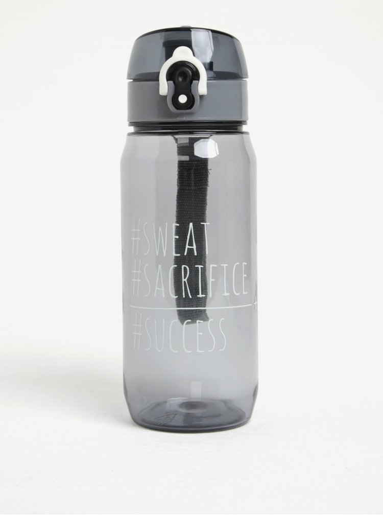 Sticla gri de apa cu capac etans - Loooqs  Sweet 600 ml