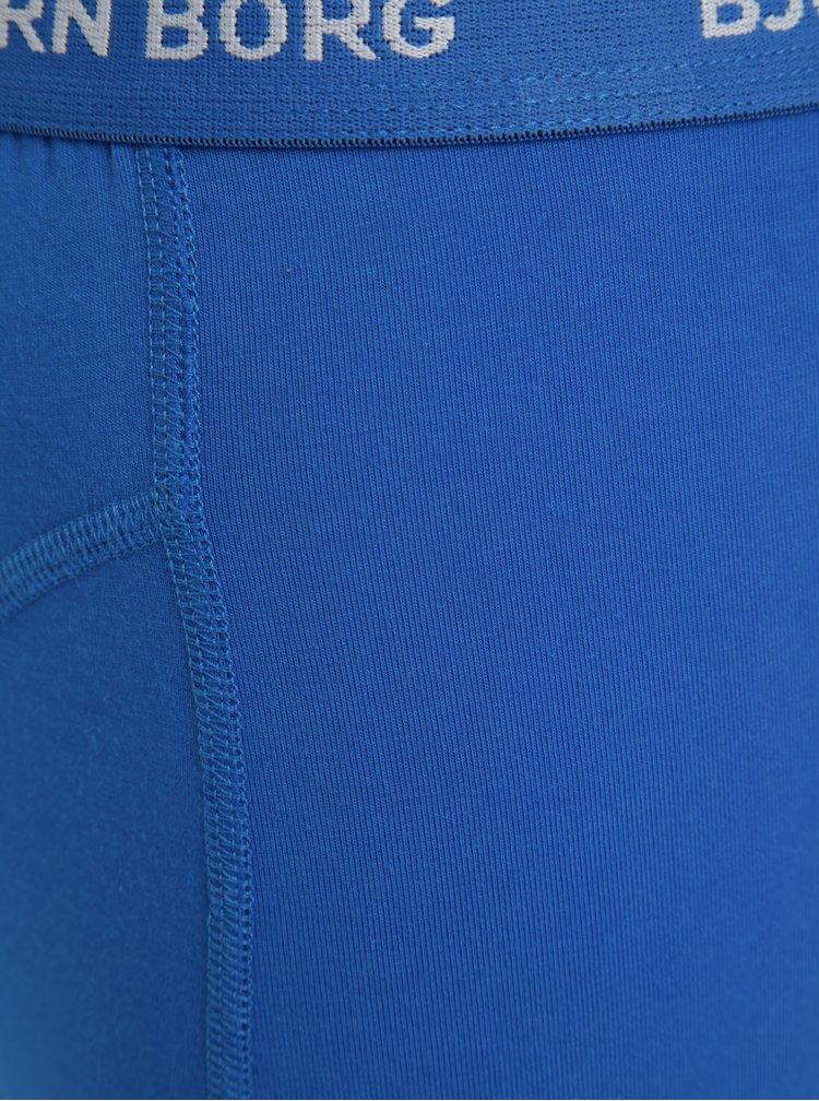 Set de 3 perechi de boxeri bleumarin & albastru - Björn Borg