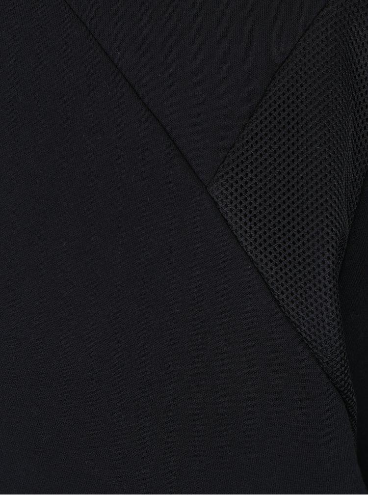 Černá mikina se síťovanými detaily ONLY & SONS Travis
