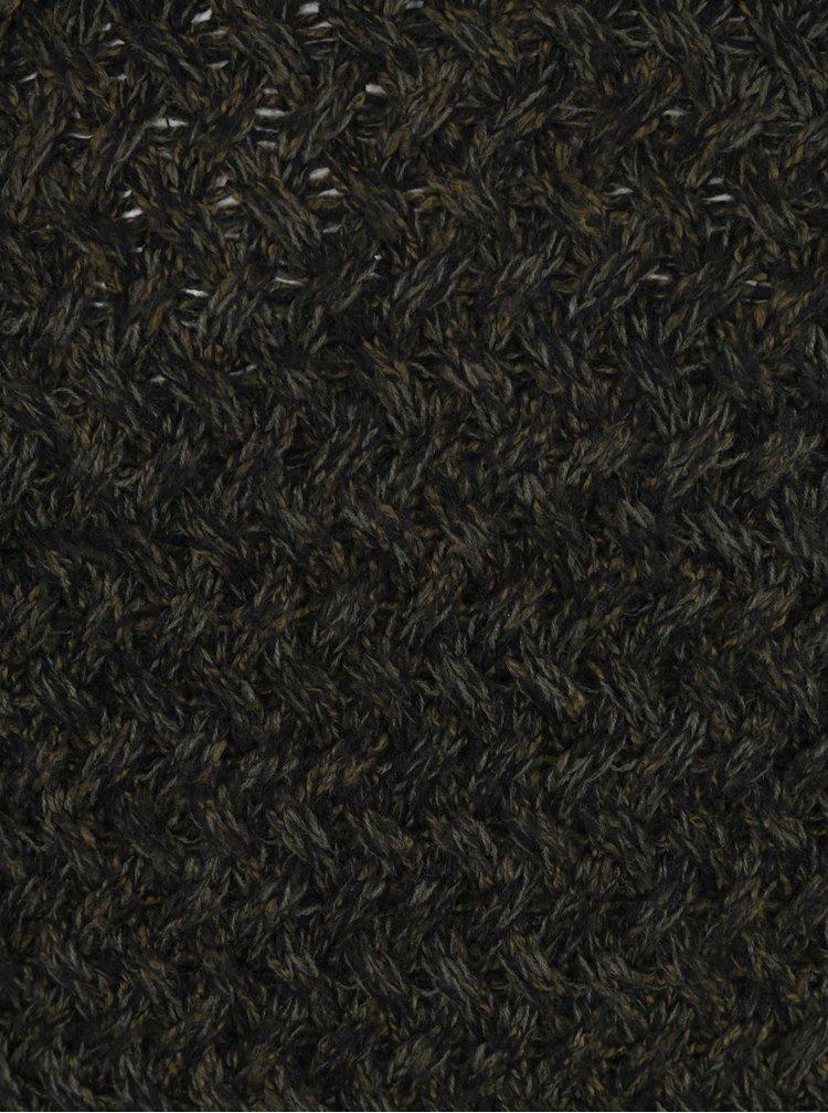 Tmavě zelený pletený svetr ONLY & SONS Odin
