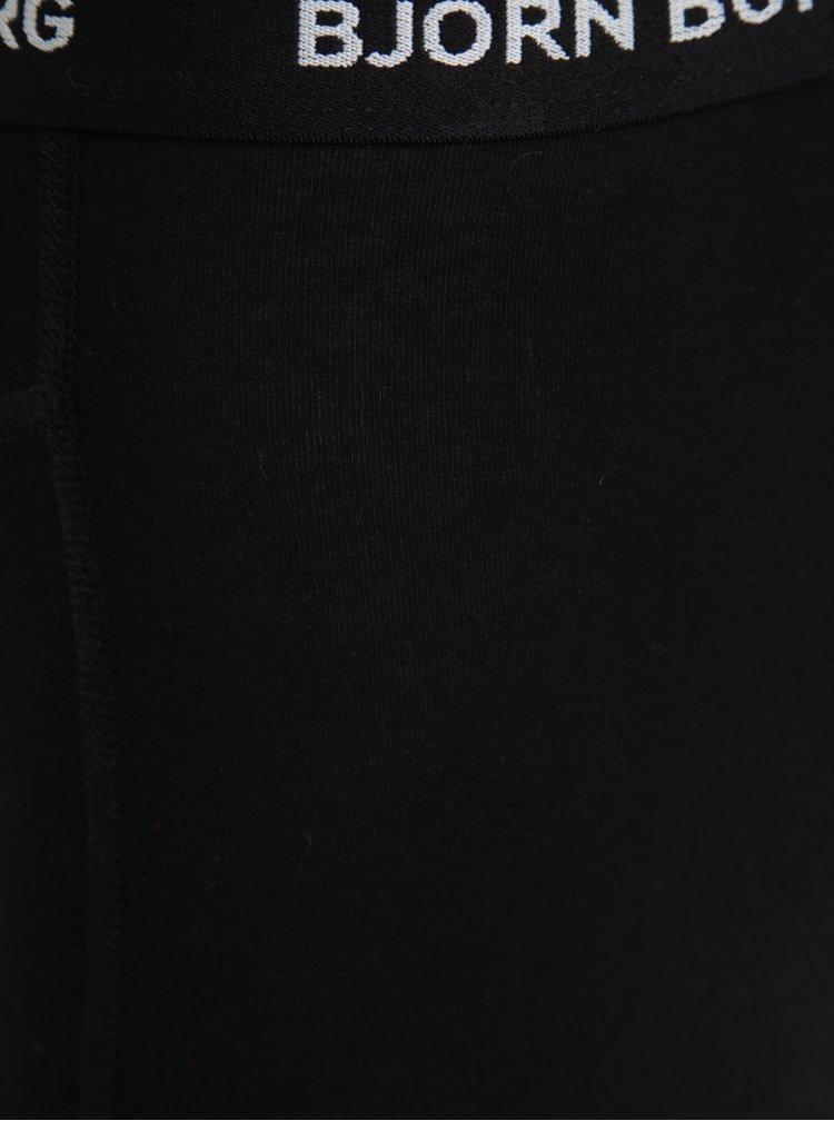 Sada pěti boxerek v černé barvě Björn Borg