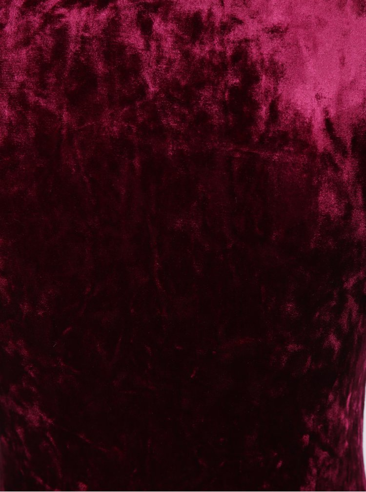 Vínové sametové body TALLY WEiJL