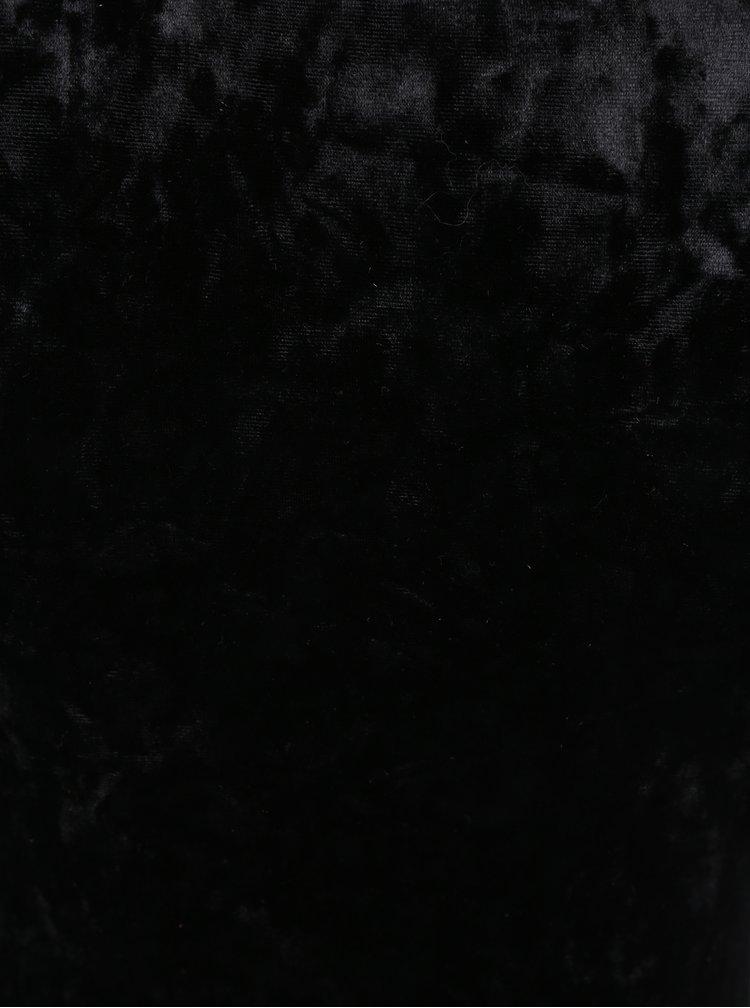 Černé sametové body TALLY WEiJL