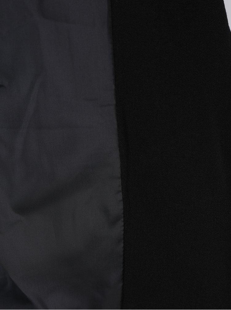 Černé sako s 3/4 rukávy Miss Selfridge Petites