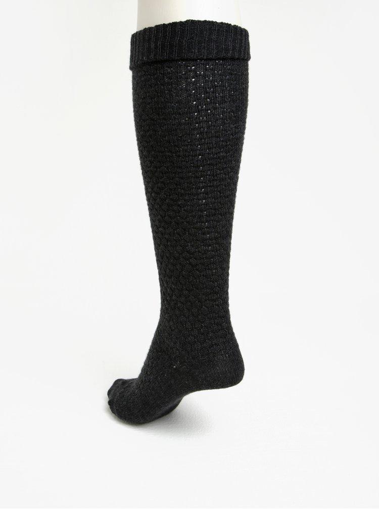 Sosete gri inchis din amestec de lana  pentru femei - mp Denmark Oslo