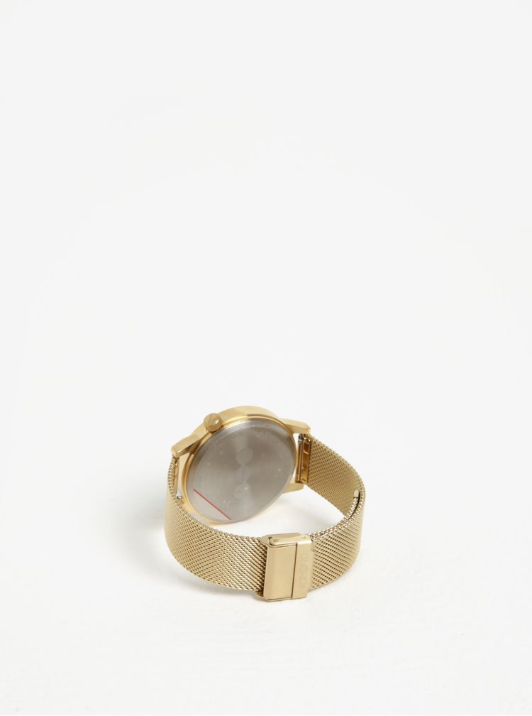 Unisex hodinky ve zlaté barvě Komono Winston Royale