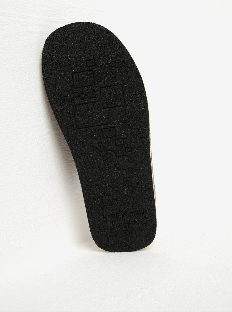 Hnědé dámské papuče OJJU