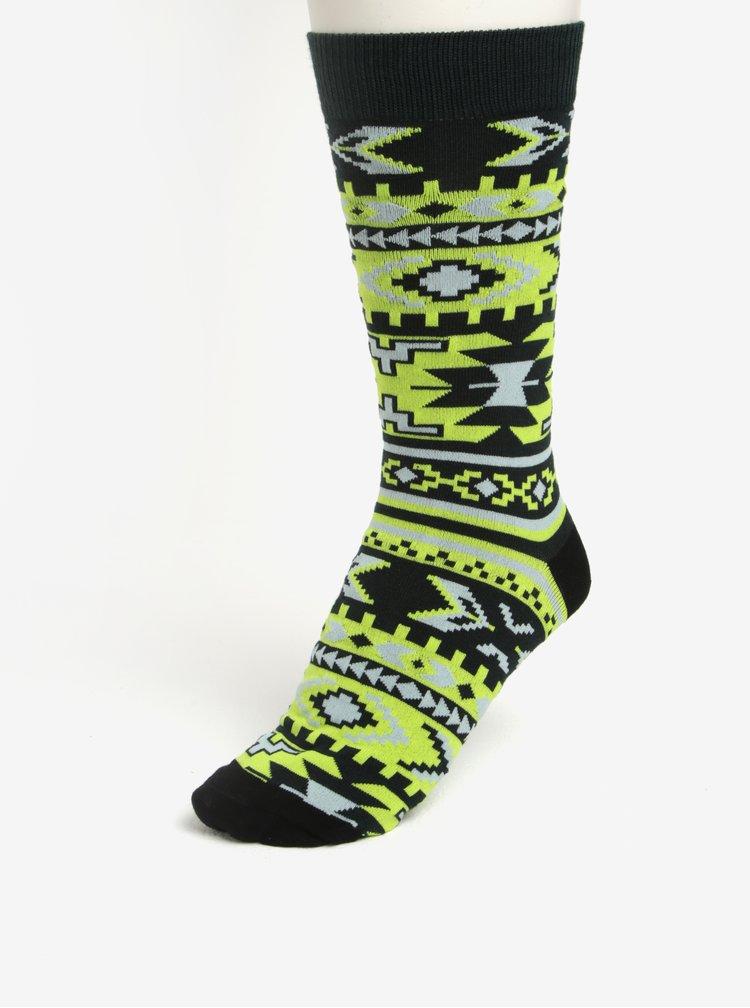 Zelený set boxerek a ponožek Björn Borg