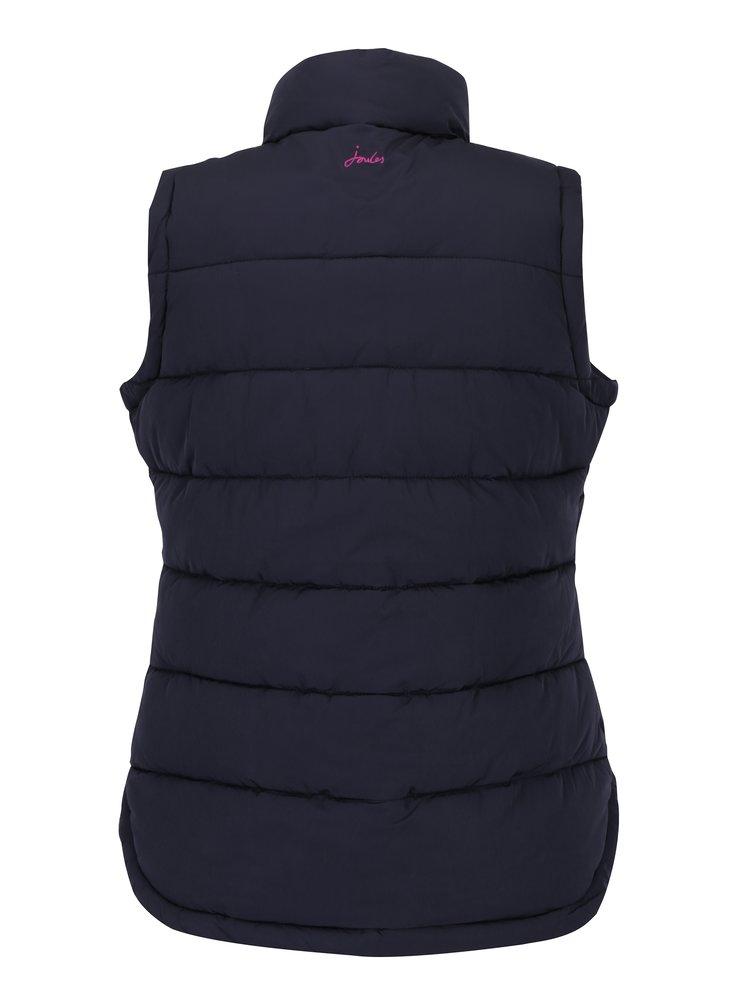 Tmavě modrá dámská prošívaná vesta Tom Joule Padded Gilet