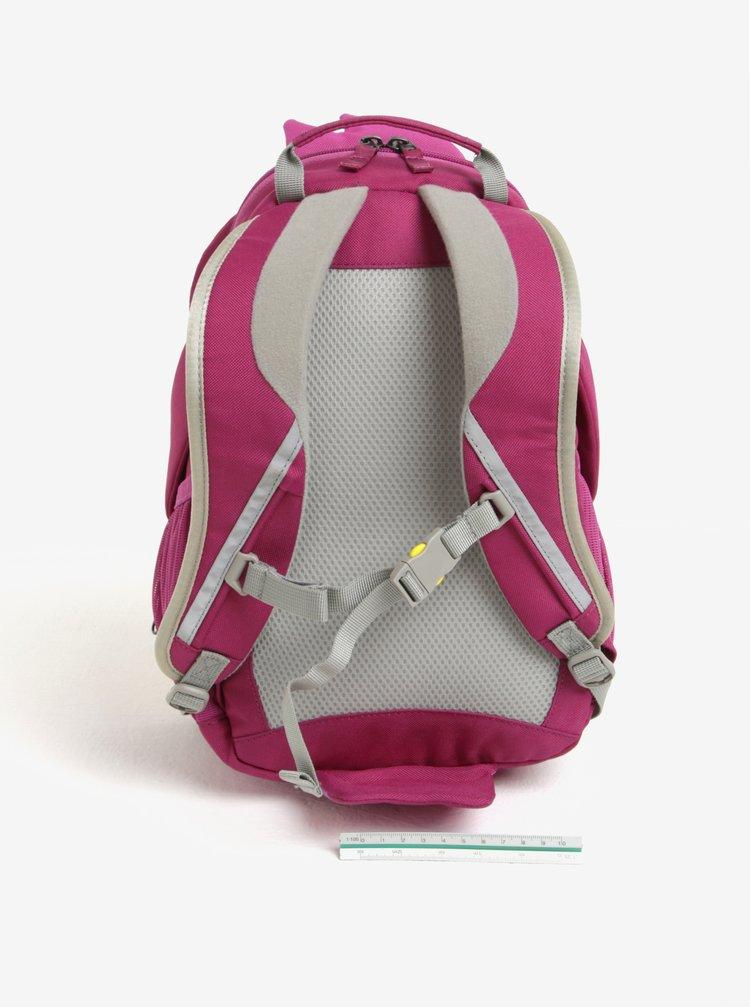 Fialový batoh ve tvaru papouška Affenzahn 8 l