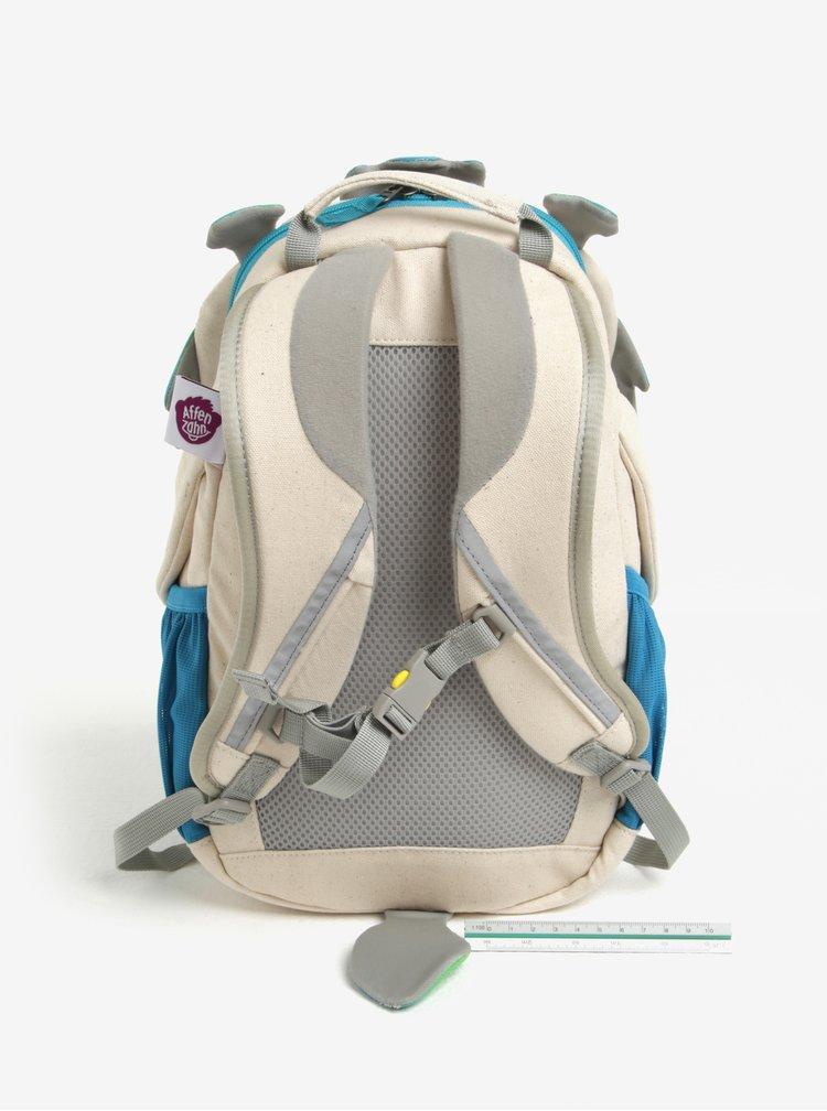 Modro-krémový batoh ve tvaru draka Affenzahn 8 l
