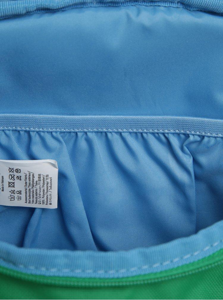 Zelený batoh ve tvaru žáby Affenzahn 4 l
