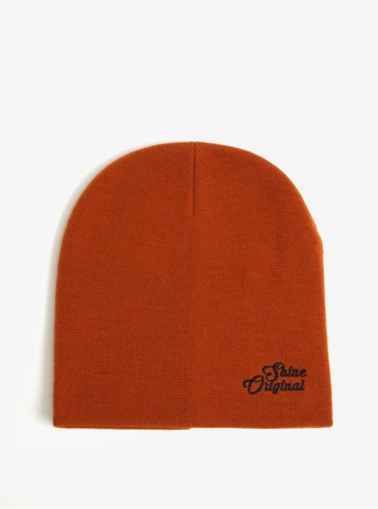 Oranžová čepice Shine Original
