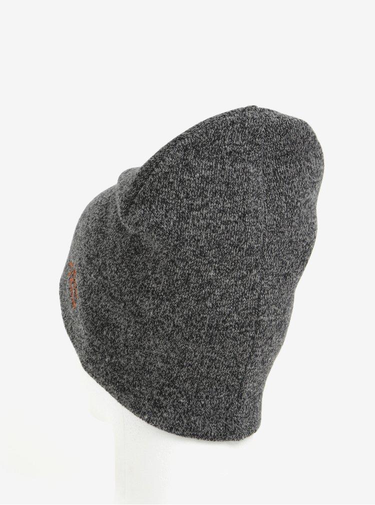 Tmavosivá melírovaná čiapka Shine Original