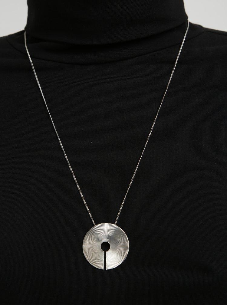 Náhrdelník ve stříbrné barvě Pieces Rawinda
