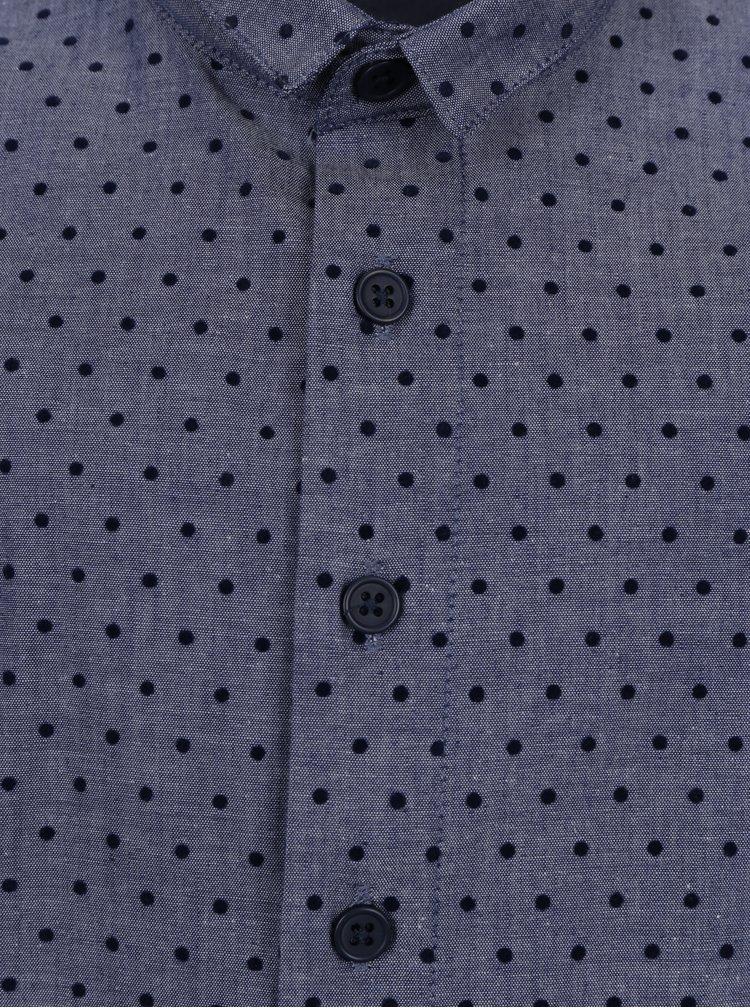 Modrá klučičí vzorovaná košile name it Ilasy