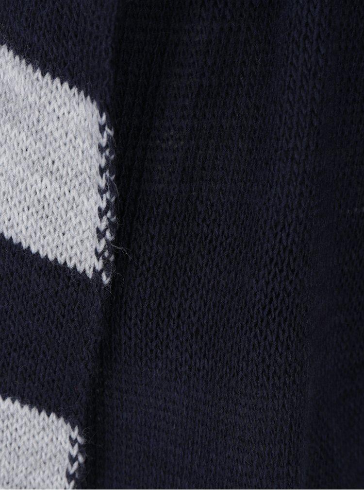 Tmavě modrý kardigan s kapucí Haily´s Sammy