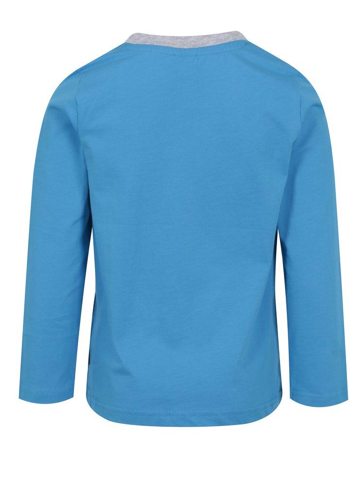 Modré chlapčenské tričko s potlačou ľadového medveďa Venere