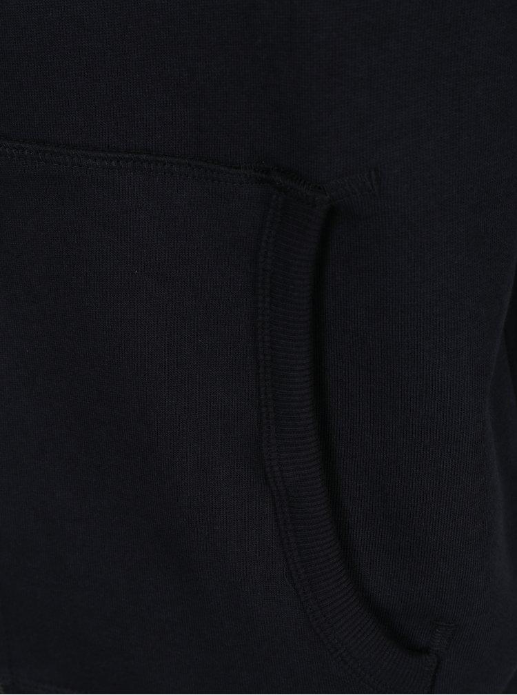 Černá mikina s kapucí Selected Homme Simon