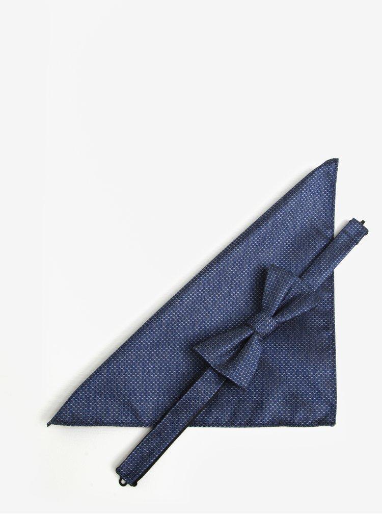 Set de batista si papion albastre - Homme Xavier