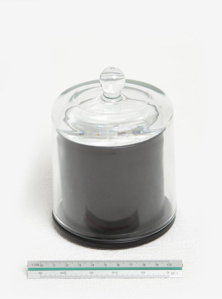 Lumanare cu suport si capac din sticla - Kaemingk
