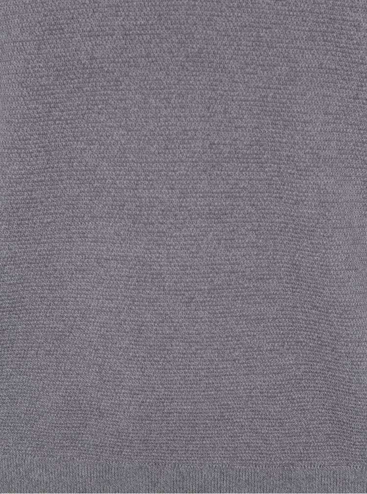 Šedý lehký svetr Selected Homme Damian
