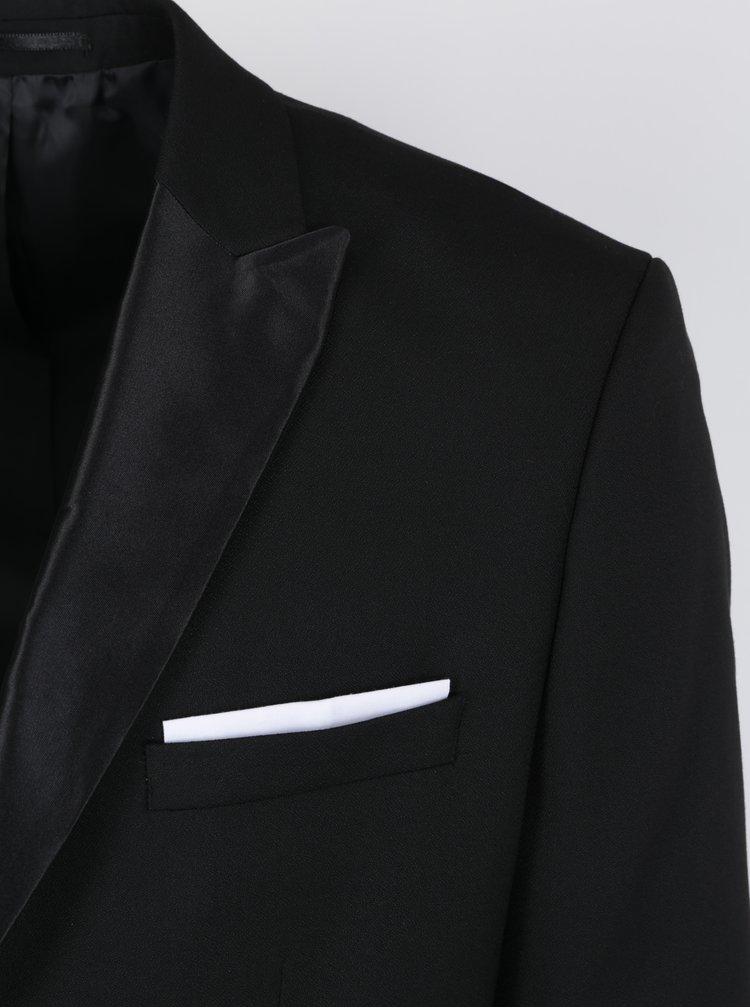 Černé oblekové sako Selected Homme Done Tux