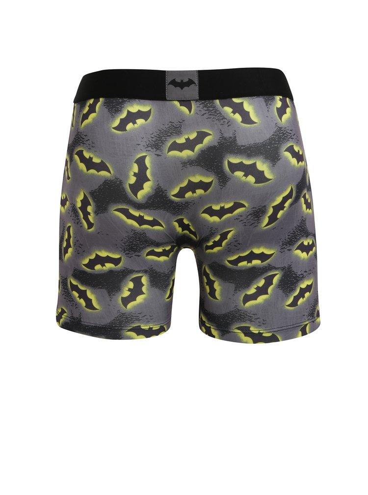Černo-šedé pánské boxerky Batman Freegun
