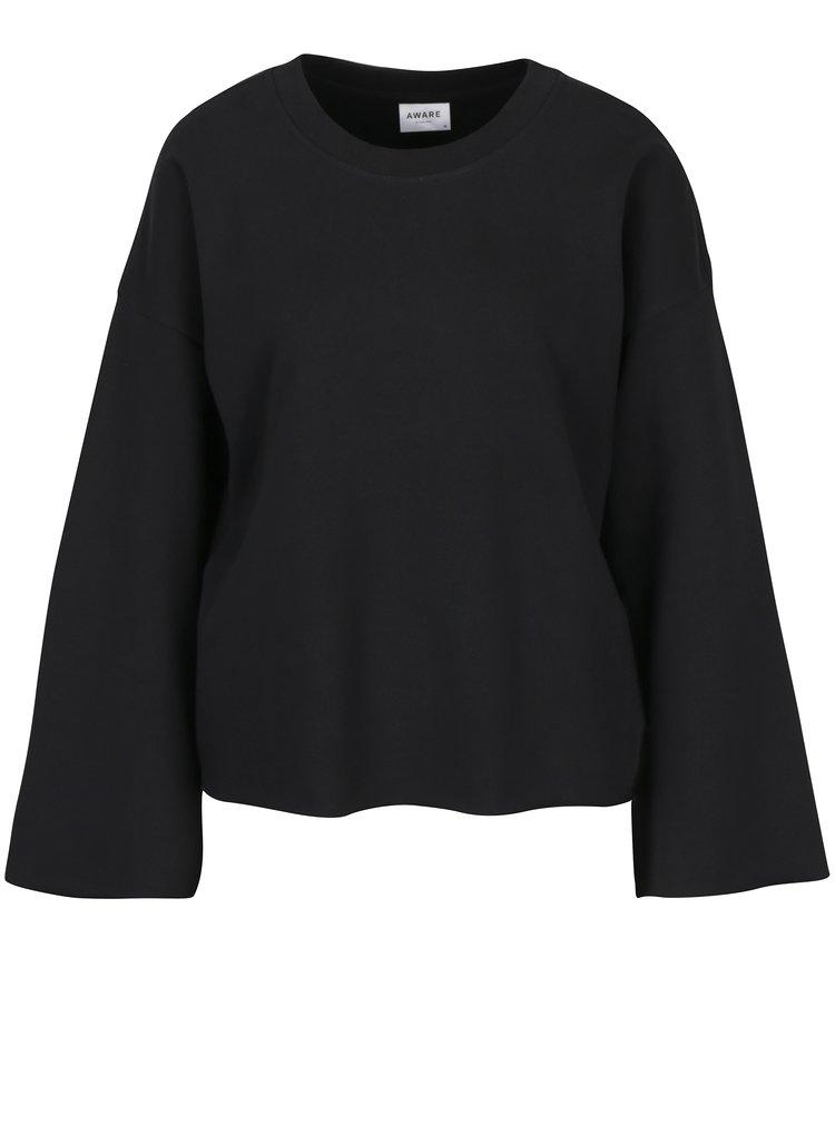 Bluza neagra cu maneci evazate VERO MODA AWARE Bida