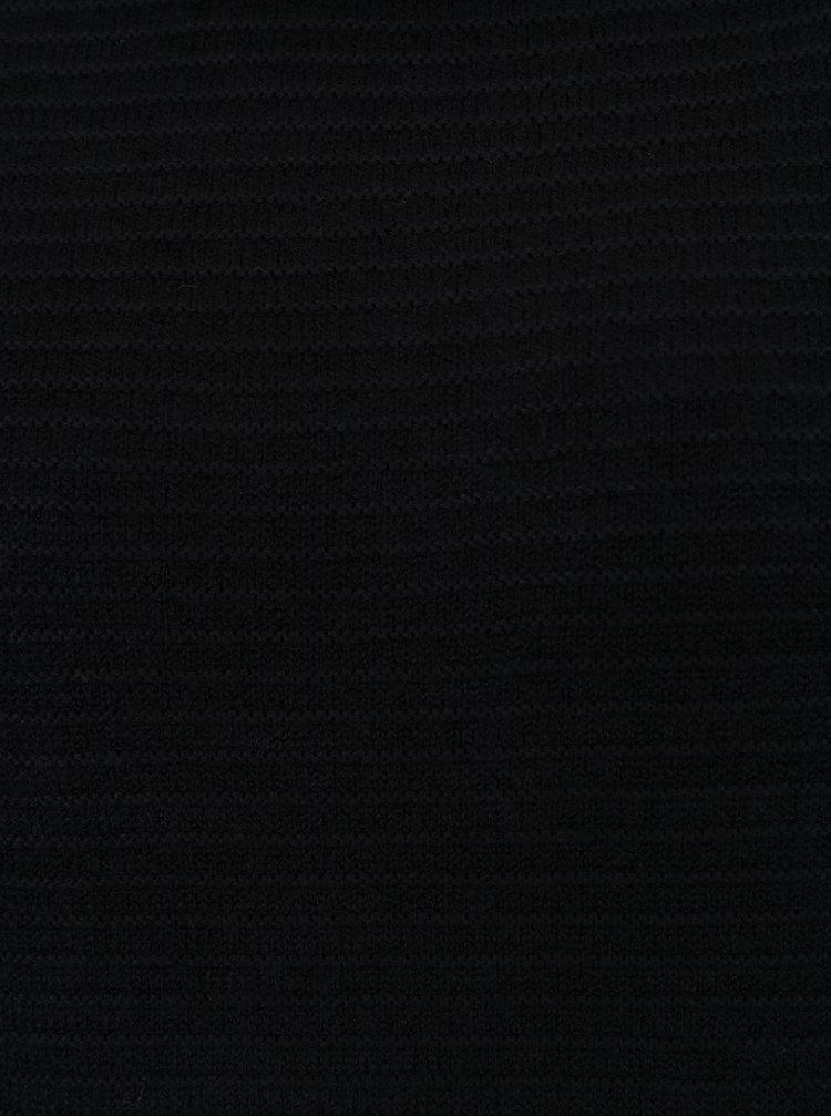 Černý rolák Jacqueline de Yong Kika