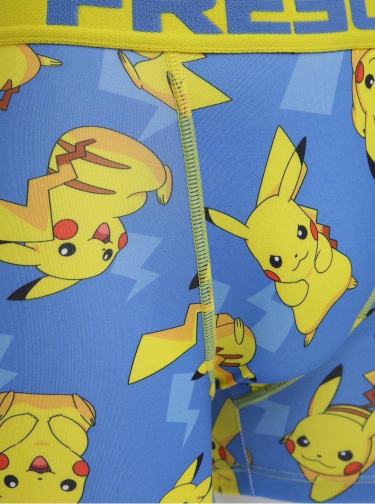 Modré pánské boxerky Pokemon Freegun