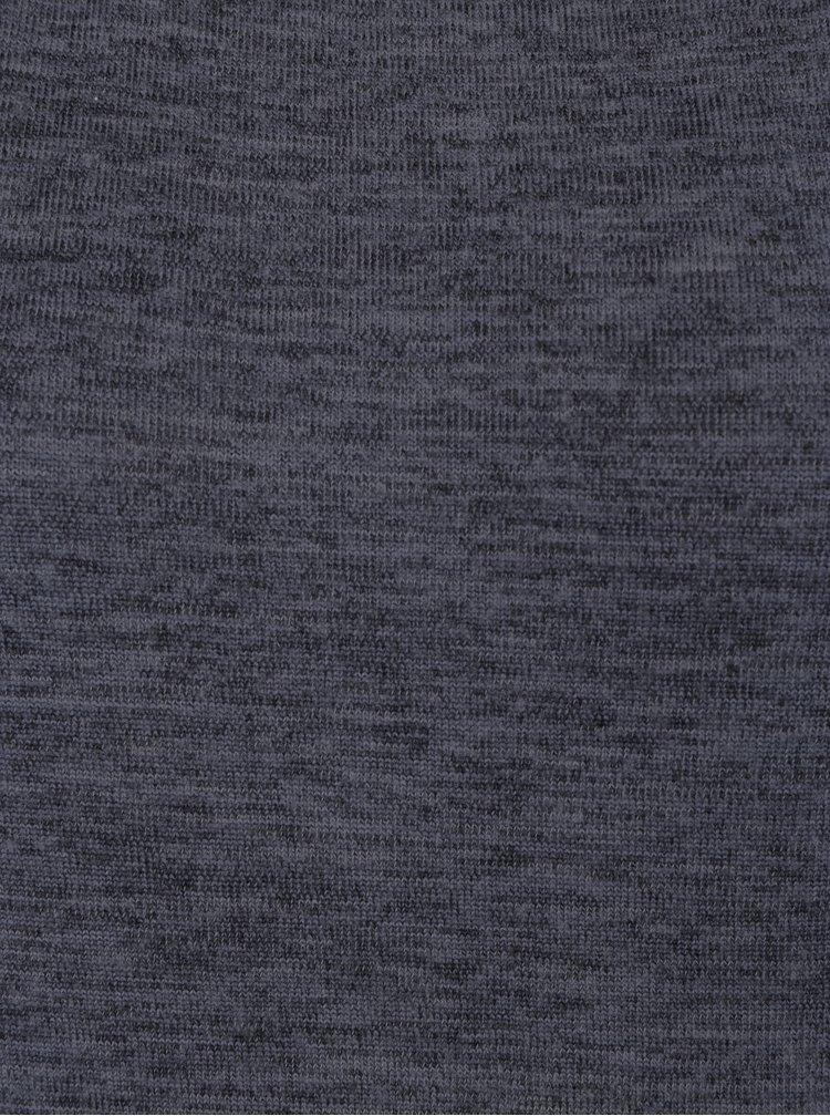 Tmavě šedé žíhané svetrové šaty Jacqueline de Yong Sorry