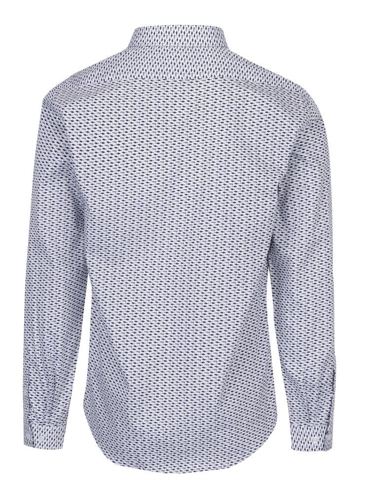 Modro-bílá vzorovaná košile Lindbergh