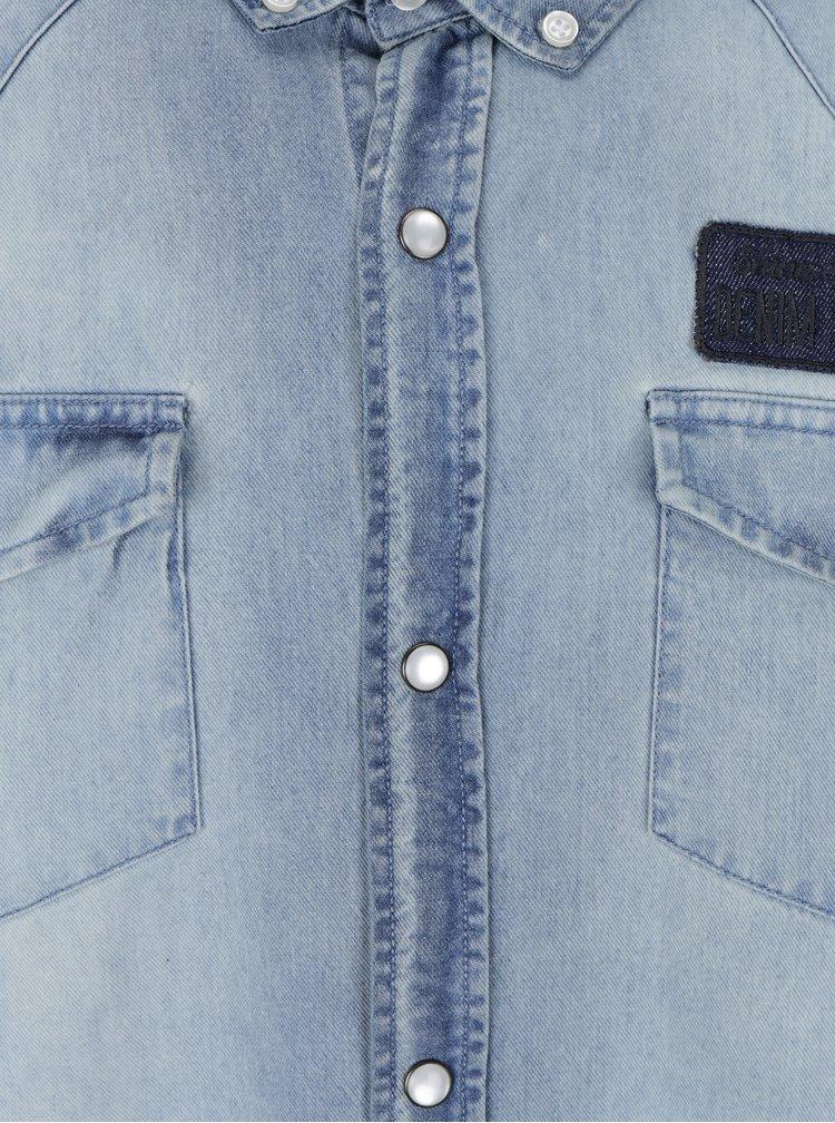 Světle modrá džínová košile Shine Original