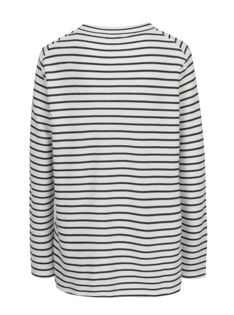 Bluza in dungi crem cu negru pentru femei s.Oliver