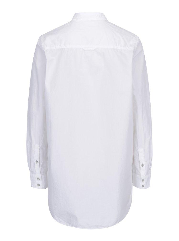 Camasa alba lunga pentru femei s.Oliver