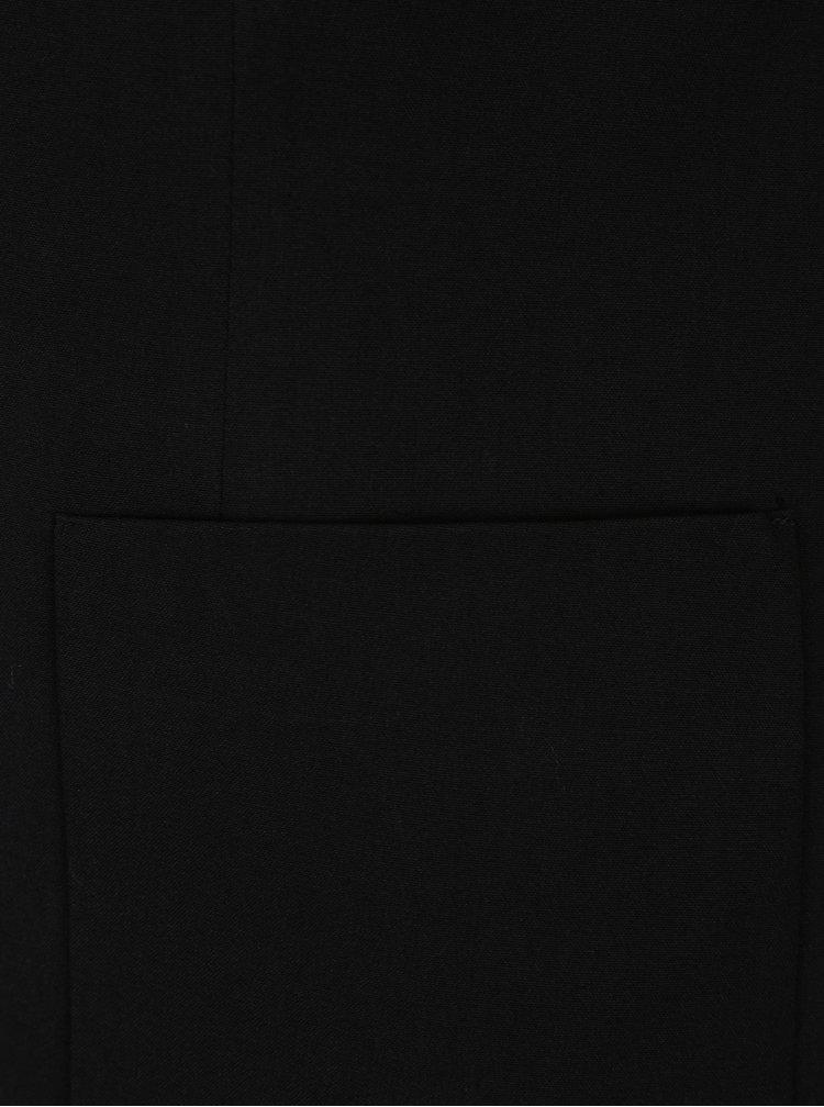Černé lehké sako s kapsami ONLY Olivia