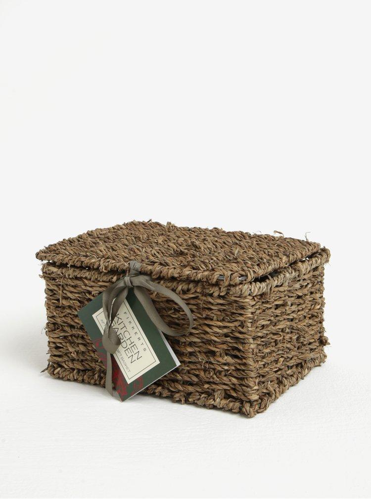 Šestidílný dárkový kosmetický set v košíku Fikkerts