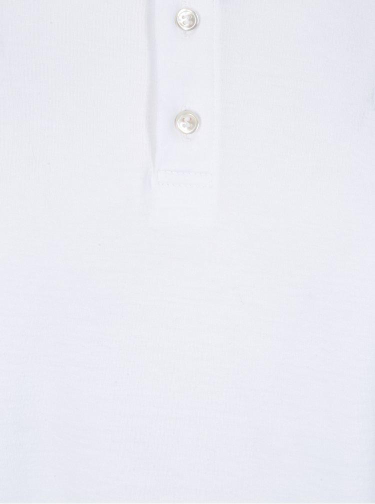 Biela pánska polokošeľa Zagh